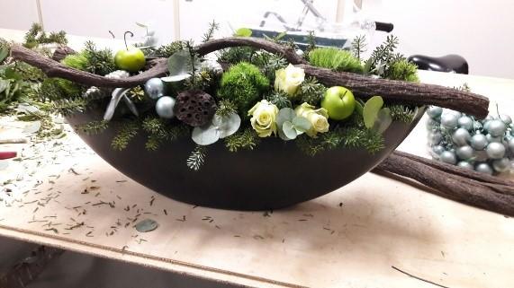 Favoriete Workshop Kerst Bloemschikken #BZX99 - AgnesWaMu &ZD72